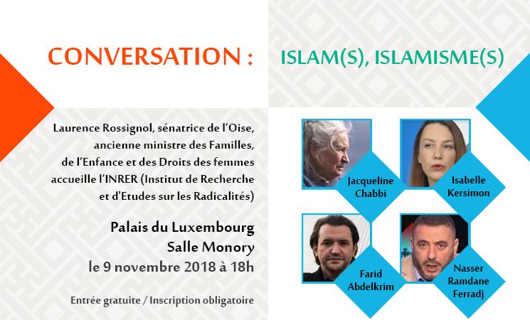 Deuxième conversation de l'INRER : «Islam(s), islamisme(s)»