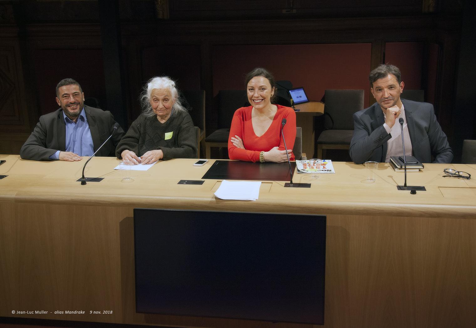 Isabelle Kersimon, Jacqueline Chabbi, Farid Abdelkrim, Nasser Ferradj