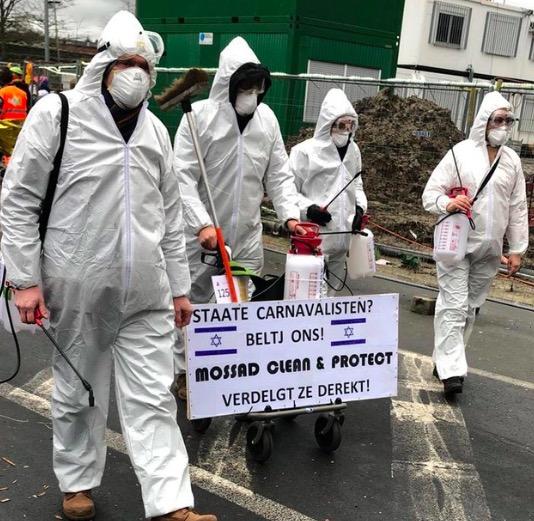 Alost 2020 - Mossad et désinfection