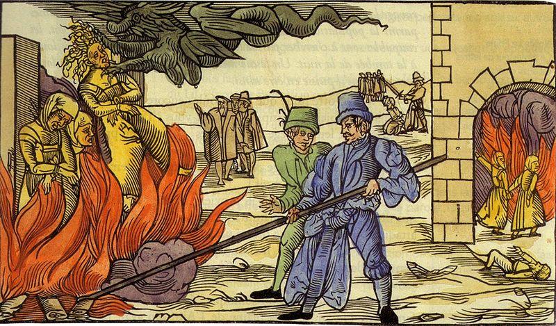 Bûcher de l'Inquisition