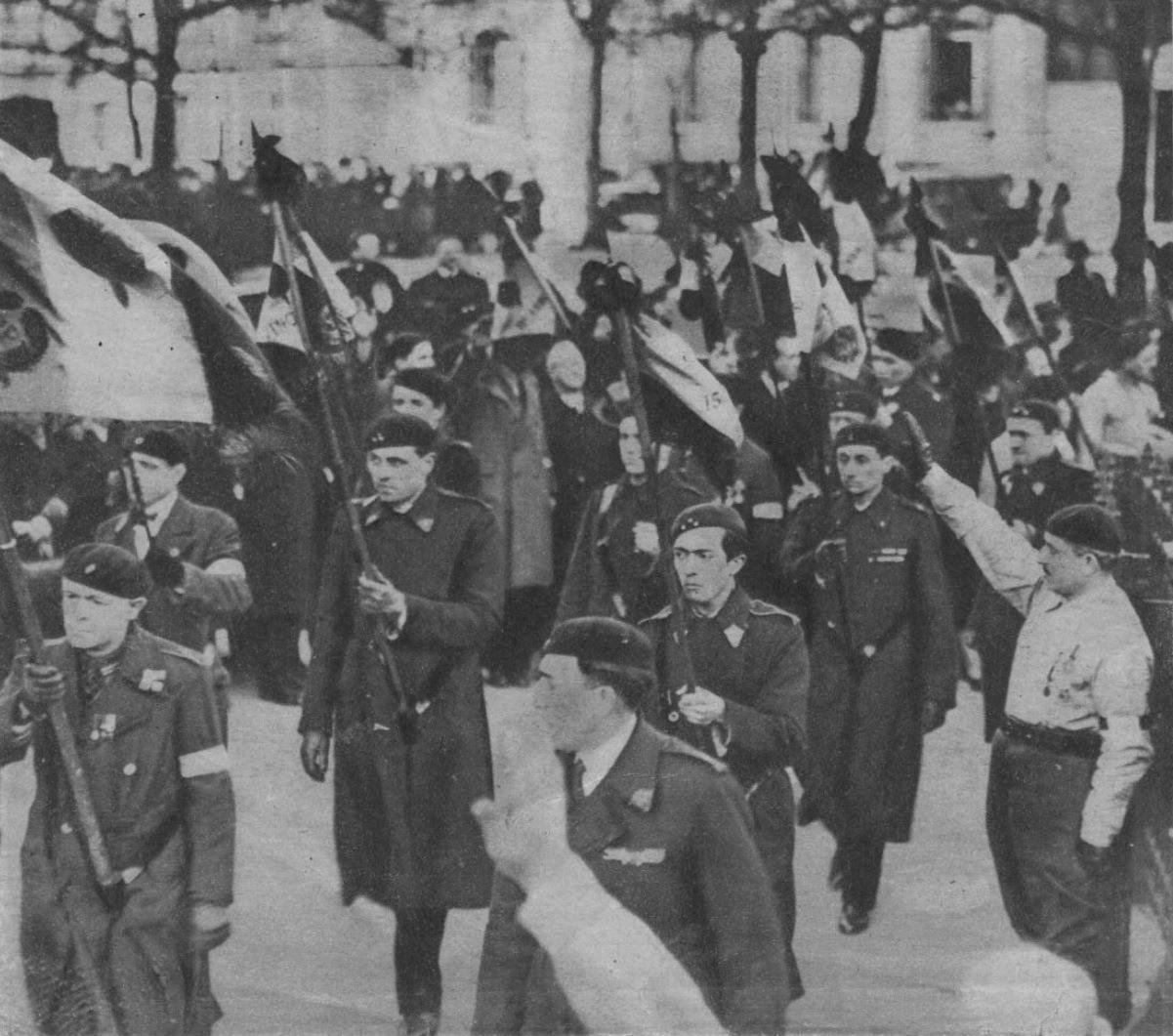 Paris, février 1934