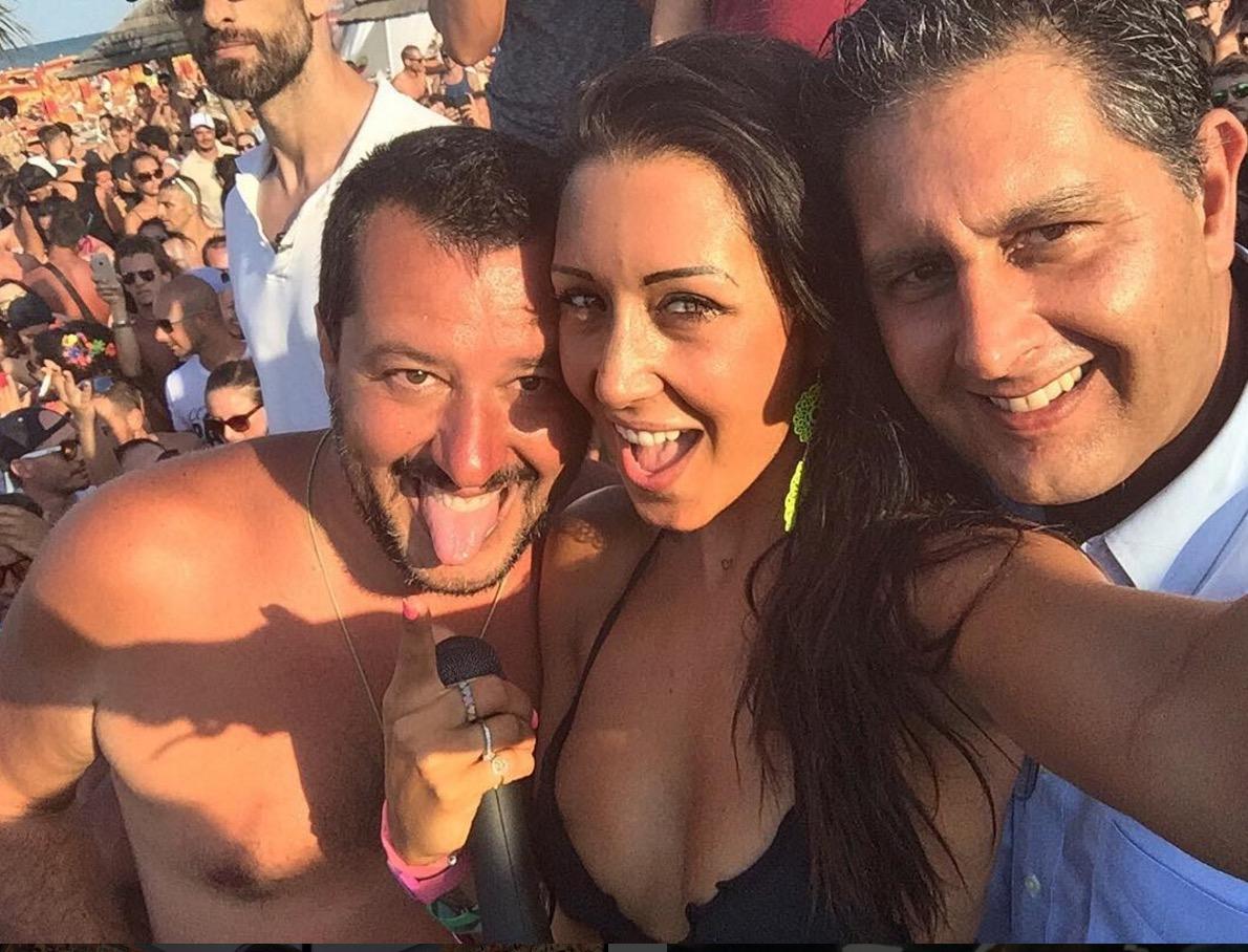 Salvini pagliacisme
