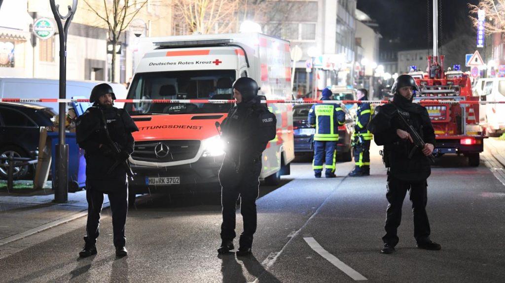 Attentats Hanau - Allemagne © Boris Rossler/DPA/AFP